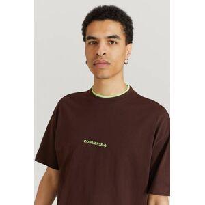 Converse Klær T-shirt T-shirts med logo eller trykk Male Brun