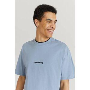 Converse Klær T-shirt T-shirts med logo eller trykk Male Blå