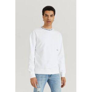 Calvin Klær Gensere og jakker Sweatshirts Male Hvit