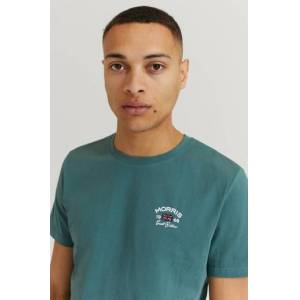 Morris Klær T-shirt T-shirts med logo eller trykk Male Grønn