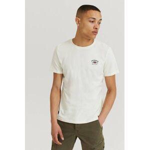 Morris Klær T-shirt T-shirts med logo eller trykk Male Hvit