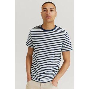 Morris Klær T-shirt Stripete T-shirts Male Blå