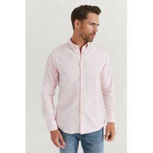 Morris Klær Skjorter Ensfargete skjorter Male Rosa