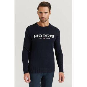 Morris Klær Gensere og jakker Strikkegensere Male Blå
