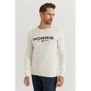 Morris Klær Gensere og jakker Strikkegensere Male Hvit