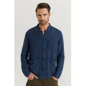 Morris Klær Skjorter Overshirts Male Blå