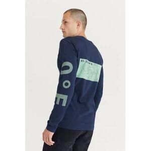 Peak Performance Klær Gensere og jakker Langermede T-shirts og bestefargensere Male Blå