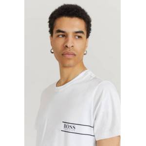 Boss Klær T-shirt T-shirts med logo eller trykk Male Natur