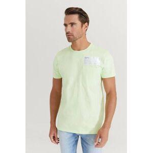 Helmut Lang Klær T-shirt Ensfargete T-shirts Male Gul