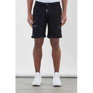 Adrian Hammond Klær Shorts Jeansshorts Male Svart