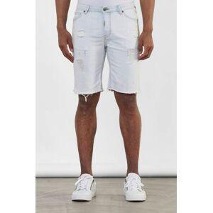Adrian Hammond Jeansshorts Nevada Shorts Blå