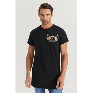 Adrian Hammond Klær T-shirt T-shirts med logo eller trykk Male Svart