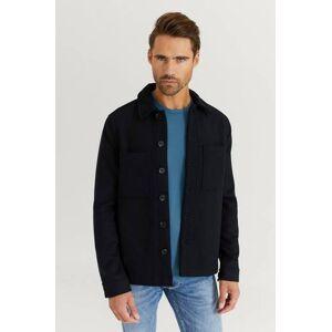 Studio Total Klær Skjorter Overshirts Male Blå