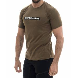 MILRAB Swedish Army - T-skjorte - Olivengrønn - S