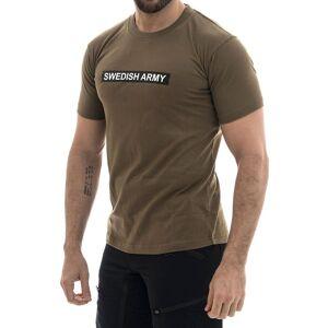 MILRAB Swedish Army - T-skjorte - Olivengrønn - L