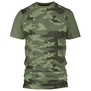 Bula Camo Merino Wool - T-skjorte - Olivengrønn - L
