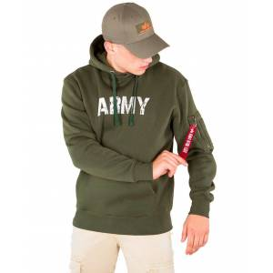 Alpha Industries Army Navy - Hettegenser - Dark green - L