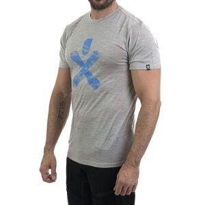 Bula Bula Merino Wool - T-skjorte - Grå - XL