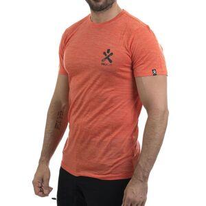 Bula Pacific Solid Merino Wool - T-skjorte - Rød - L