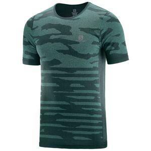 Salomon XA Camo - T-skjorte - Green Gables/Heather - S