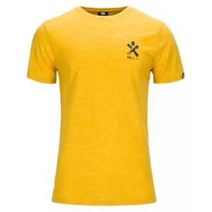 Bula Pacific Solid Merino Wool Tee - T-skjorte - Sun - S