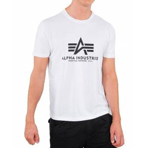 Alpha Industries Basic T - T-skjorte - Hvit - XL