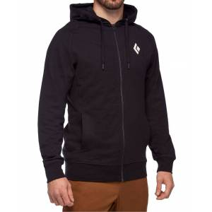 Black Diamond Stacked Full Zip - Hettegenser - Svart - L