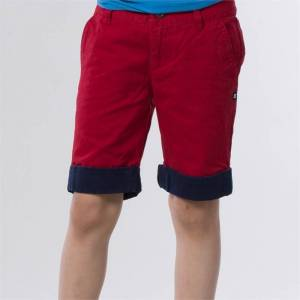 DC PLAY THE KEYS BOYS SHORT Deep Red - 29