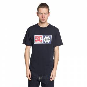 DC GLOBAL SALUTE TEE Dark Indigo - S