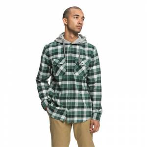 DC RUNNELS LS SHIRT Hunter Green - L