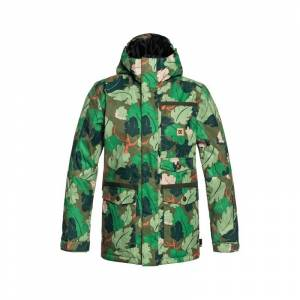 DC SERVO YOUTH JACKET Chive Leaf Camo - 12År