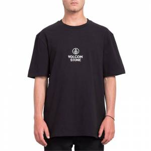 VOLCOM CUT THE ROPE BXY SS BLK-S
