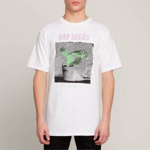 VOLCOM BAD SEED HTH SS WHITE - M