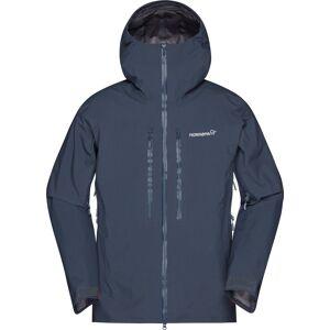 Norrøna Trollveggen Gore-Tex Pro Jacket, skalljakke herre Cool Black 1603-19 7760 M 2019
