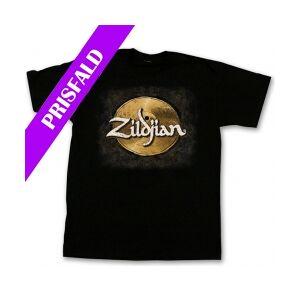 Zildjian T4584 Hand Drawn Cymbal T-shirt - X-Large TILBUD NU