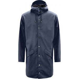 Rains Long Jacket - Blue