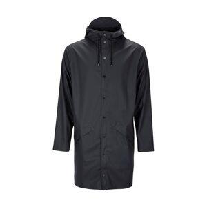Rains Long Jacket - Black