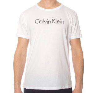 Calvin Klein Core Lifestyle Relaxed Crew Tee - White