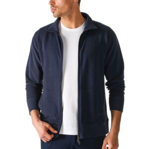 Mey Enjoy Sweat Jacket With Zip - Darkblue