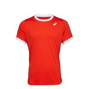 Asics Club Ss Top T-shirts Short-sleeved Rd Asics