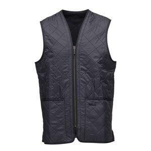 BARBOUR Polarquilt Waistcoat/Zip-In Liner Vest Svart BARBOUR