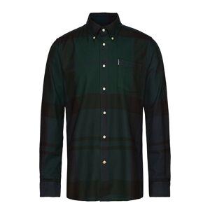 Barbour Dunoon Shirt Skjorte Uformell Svart Barbour