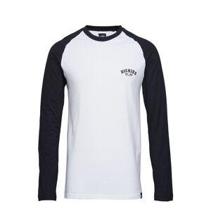 Dickies Baseball T-shirts Long-sleeved Hvit DICKIES