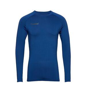 Hummel Hml First Performance Jersey L/S T-shirts Long-sleeved Blå Hummel