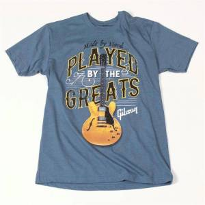 Gibson Played By The Greats T, XL (Indigo)