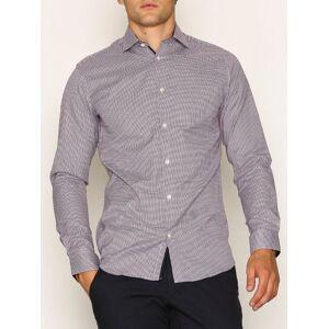 Selected Homme Slhslimnew-Mark Shirt Ls B Noos Skjorter White