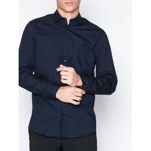 Selected Homme Slhslimpreston-Clean Shirt Ls B Noo T-skjorter og singleter Mørk blå
