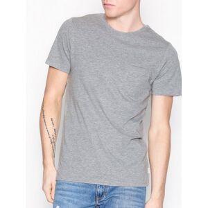 Jack & Jones Jjepocket Tee Ss O-Neck Noos T-skjorter og singleter Lys grå