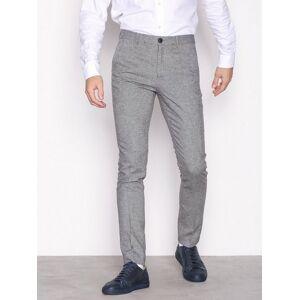 Selected Homme Slhslim-Phantom Pants B Bukser Lys grå