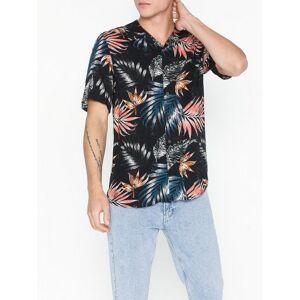 Only & Sons onsTHOMAS Ss Reg Viscose Shirt Re Skjorter Svart